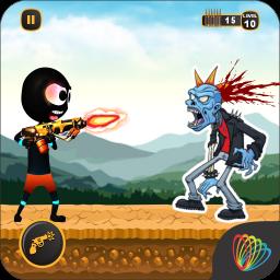 Stickman War - stickman shooting game