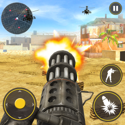 Military Gunner Guns War Weapons Shooter Simulator