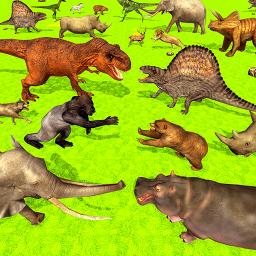 Wild Animals Kingdom Battle