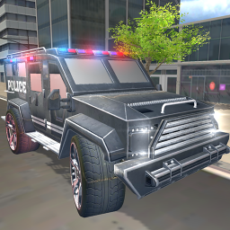 US Armored Police Truck Drive: Car Games 2021