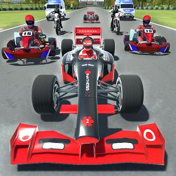 Kart vs Formula racing 2018
