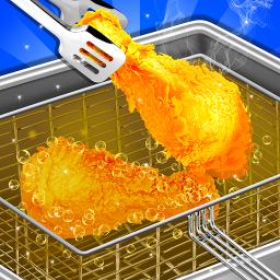 Crispy Deep Fry Maker - Carnival Food Cooking game