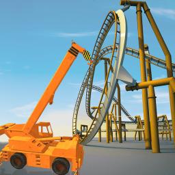 Roller Coaster Construction Simulator: Crane Games