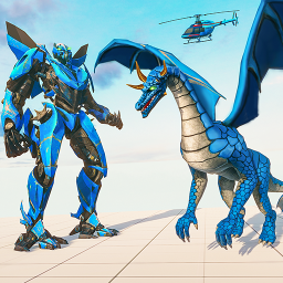 Flying Dragon Robot Transforming Dragon Games