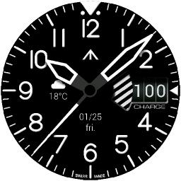 Pilot One Watch Face