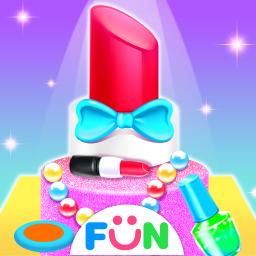 Girls Makeup Kit Pretty Box- Fun Games for Gilrs