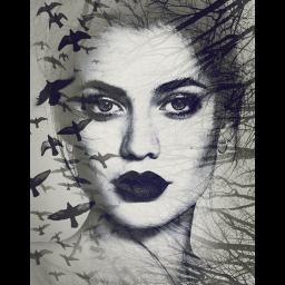 Photo Blending Art Effect - Double Exposures