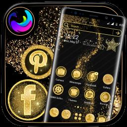 Glitter Launcher Theme