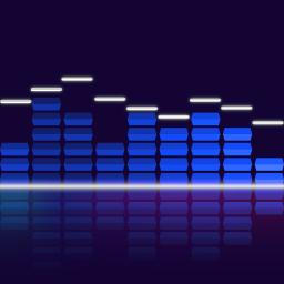 Audio Glow Music Visualizer