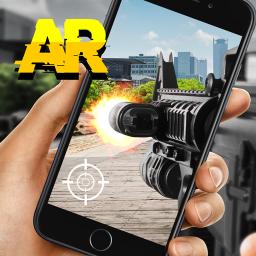 Weapon AR camera 3d simulator