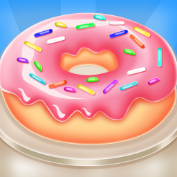 Sweet Donut Maker - Chef Cooking Bakery Shop