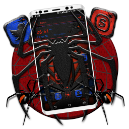 Spider Mask Launcher Theme