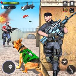 Army Dog Commando Shooting
