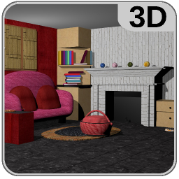 3D Room Escape-Puzzle Livingroom 4