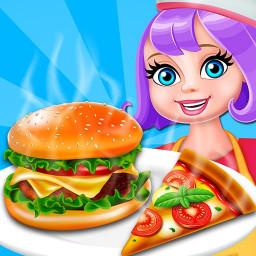 Pizza Burger Factory 2019: Fast Food Maker Game