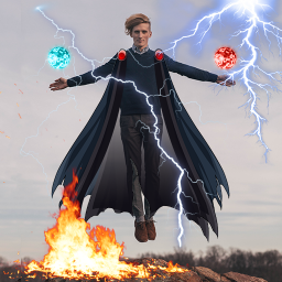 Super Powers Effects Photo Editor