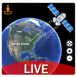 Live Earth Map Pro - Satellite View, World Map 3D