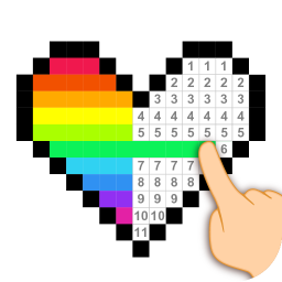 Pixel Art - Color by the Block Number