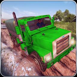 Offroad Trucker Muddy Car Drive: Hill Adventure