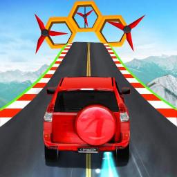Impossible Prado Car Stunt - Ramp Car Games 2020