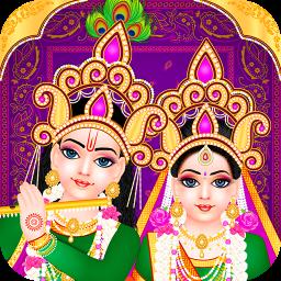Lord Radha Krishna Live Temple