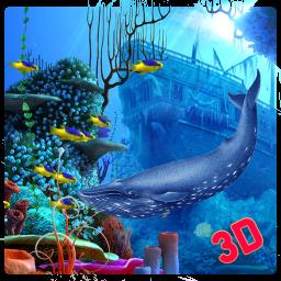 Blue Whale Attack Simulator 2020: Sea Animals