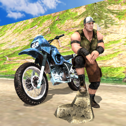Wrestlers Moto Stunts Racer