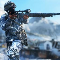 Modern World War Battle: Winter FPS Shooting Game