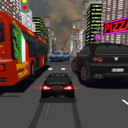 Police Traffic Racer :RC Cars