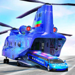 US Police Limo Transport, Aeroplane transport Game