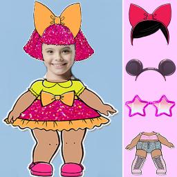 Cute Dolls lol Photo Editor