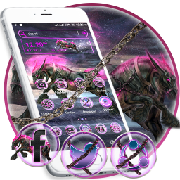 Abstract Horse Launcher Theme