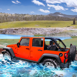 Offroad Jeep Driving 2021 - Car Racing Game 3D