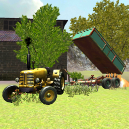 Classic Tractor 3D: Wheat