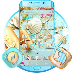 Sea Shell Launcher Theme