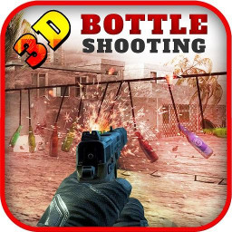 Real Bottle Shooting: Expert Gun Shoot Free game