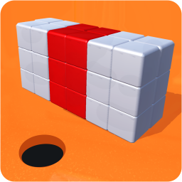 Color Block Black Hole Run 3D: Cube Games For Free