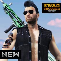 Swag Shooter - Online & Offline Battle Royale Game