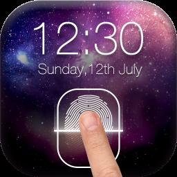 Fingerprint LockScreen Simulated Prank