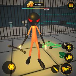 Prisoner Stickman Jail Survival Story: Escape Plan