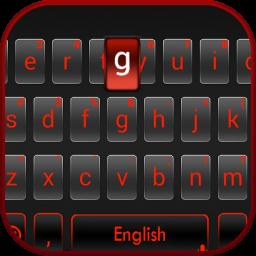 Simple Business Black Keyboard Theme