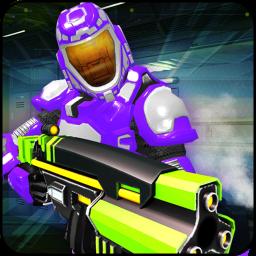 Real Robot Fire Battleground : Free Sci-fi Firing