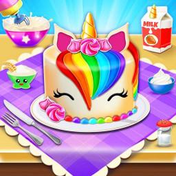 Unicorn Cake Maker🦄🎂: Baking Games For Girls