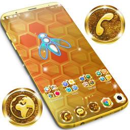 Gold Theme for Whatsapp