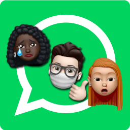 Memoji Stickers for whatsapp apple Wastickerapps