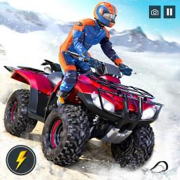OffRoad Snow Mountain ATV Quad Bike Racing Stunts