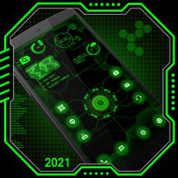 Circuit Launcher 2021 App lock, Hitech Wallpaper