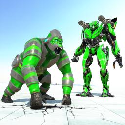 Gorilla Robot Car Transform