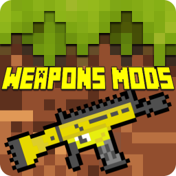 Guns & Weapons Mods for Minecraft PE