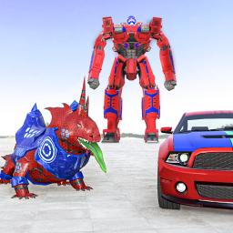 Lizard Robot Car Game: Dragon Robot Transform